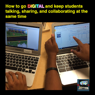How to go digital and keep students collaborating