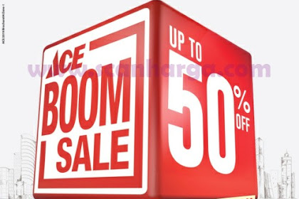 Brosur Promo Katalog Ace Hardware Boom Sale 20 Maret - 23 April 2019
