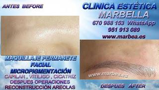 micropigmentyación Málaga clínica estetica ofrenda los preferible precio para micropigmentyación, maquillaje permanente de cejas en Málaga y marbella