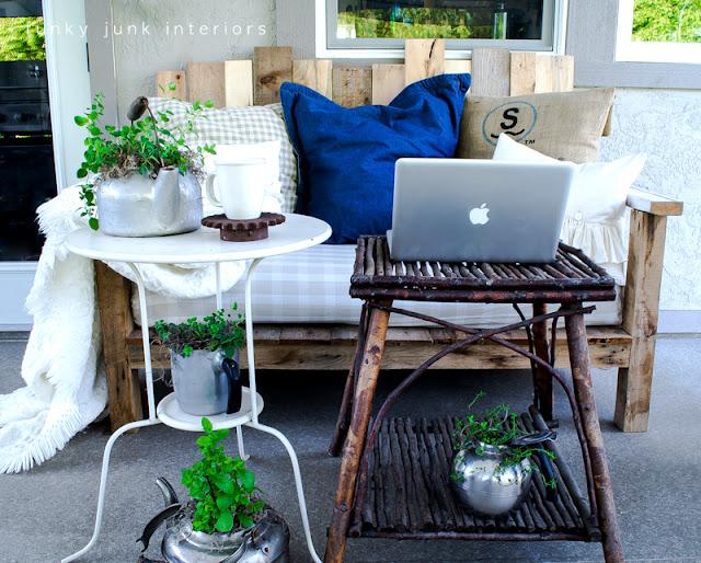 patio furniture Funky Junk Interiors