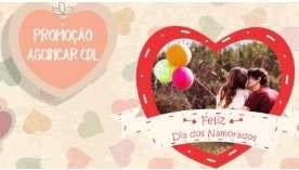 Promoção Ascincar CDL Dia dos Namorados 2018 Carmópolis de Minas
