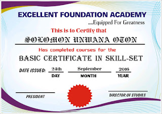 Excellent Foundation Academy Free Seminar