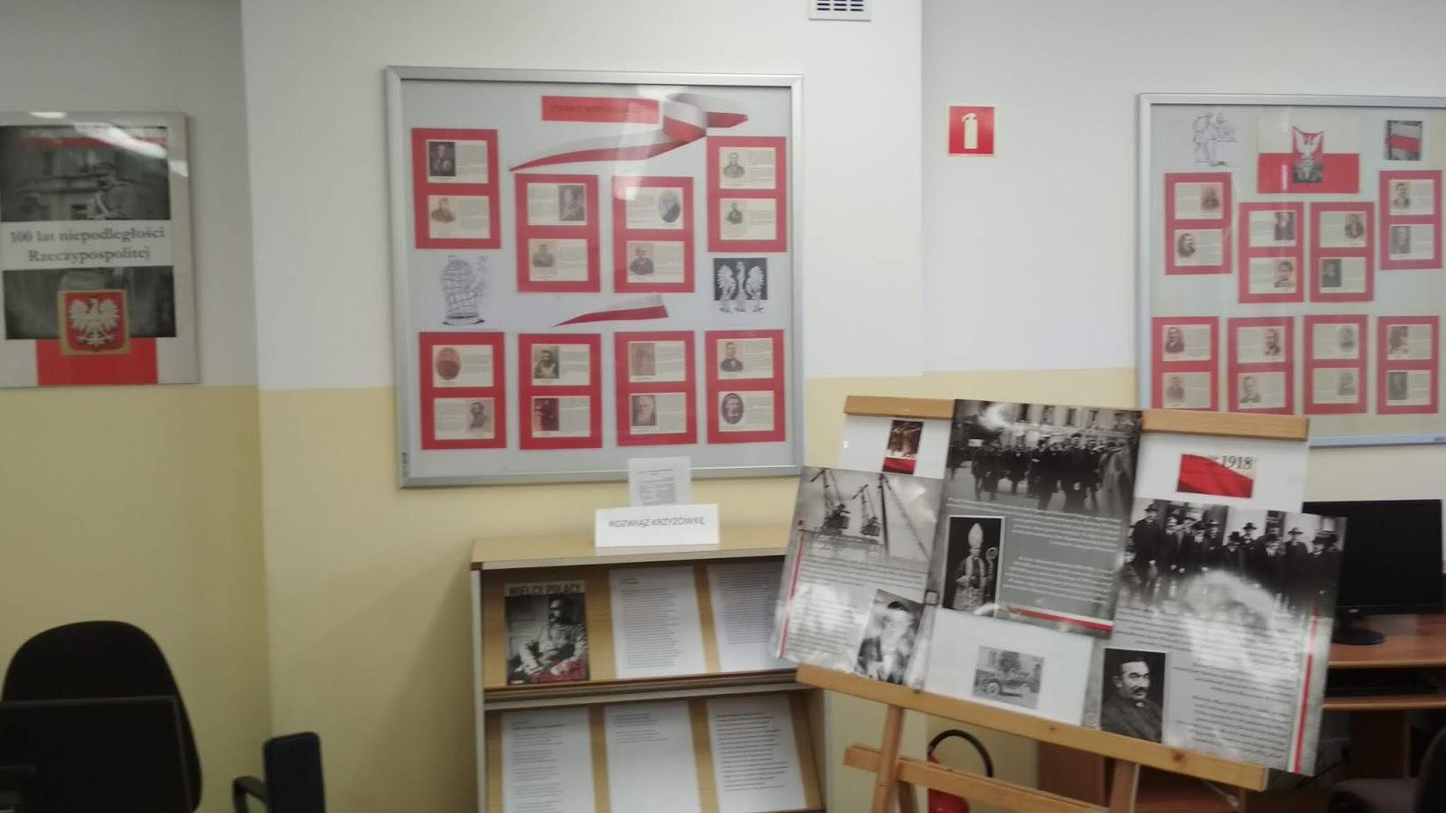 Wystawa święto Niepodległości 11 Listopada