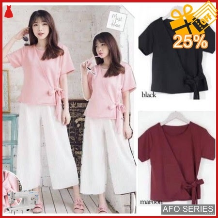 AFO429 Model Fashion Nonni Blouse Modis Murah BMGShop