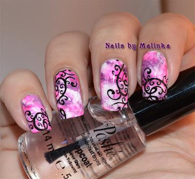 Nails By Malinka Saran Wrap En Infinity Nails 36