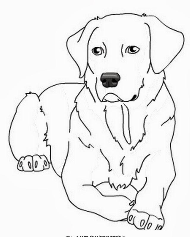 Disegni Da Colorare Dei Cani