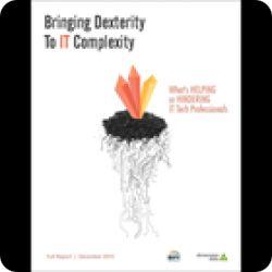 تحميل كتاب Bringing Dexterity to IT Complexity بقيمة 199 دولار مجانا عبر هذه التدوينة English