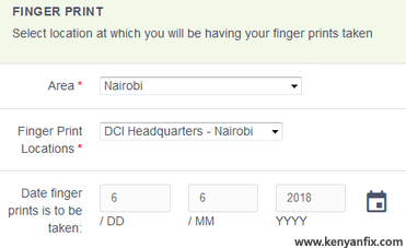 fingerprint details