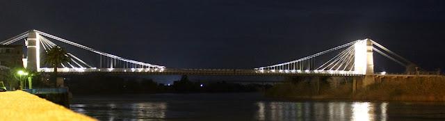 Puente de Amposta de noche