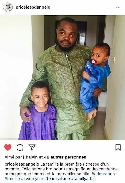 Cameroonian man kill him three beautiful children