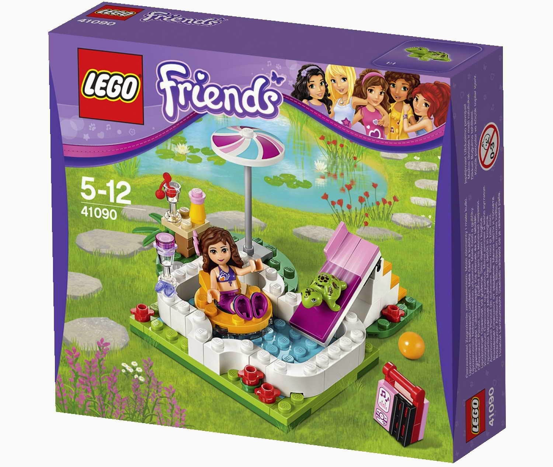 Brick friends lego 41090 olivia 39 s garden pool for Olivia s garden pool