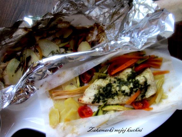 Zakamarki Mojej Kuchni Dorsz Zapiekany Z Warzywami