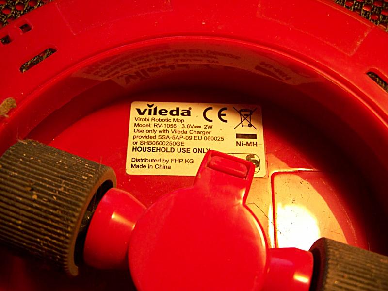 Robot Cattura Polvere Vileda.Mytech Vileda Virobi Robot Cattura Polvere Manutenzione