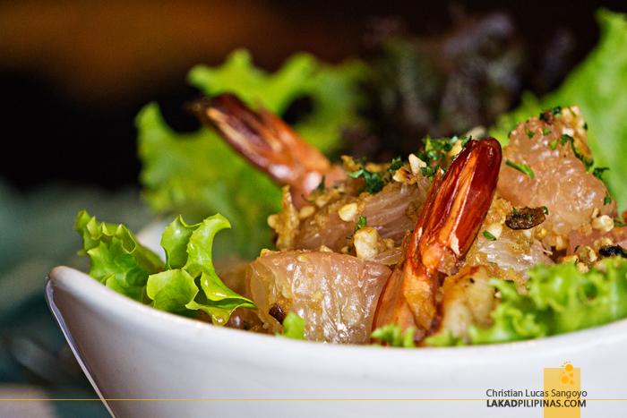 Cafe Voi La Tagaytay Thai Pomelo Salad