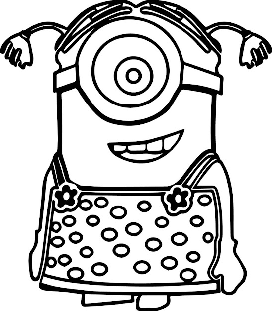 Minion Coloring Pages Coloring Printable Pages