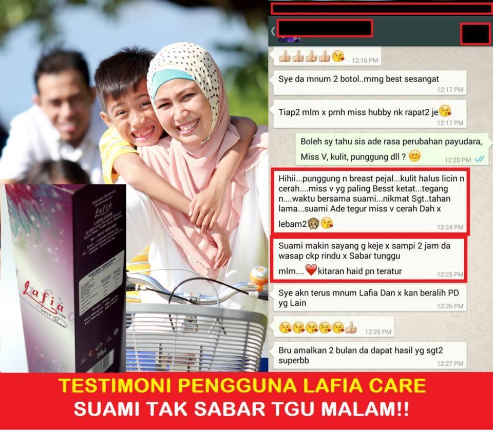 Testimoni Lafia Care Gold