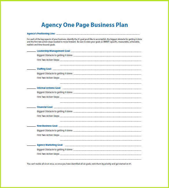 ms word business plan template