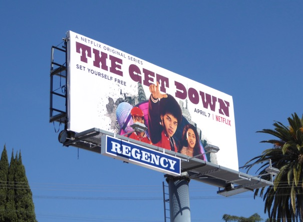 Get Down season 1 part 2 billboard