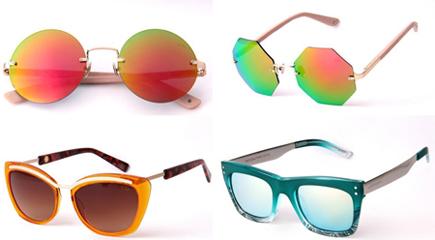 Em pouco tempo as vendas saltaram dos módicos 200 óculos comercializados  por mês para 1.200 peças. Bastou um pouco de cor para mudar definitivamente  o rumo ... 11aac35033