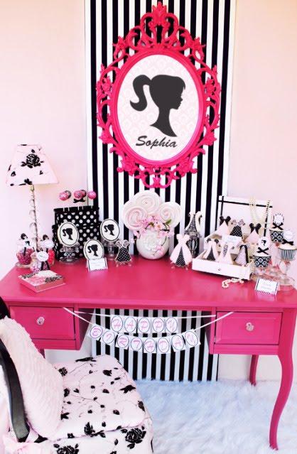 Vintage Barbie Party 110