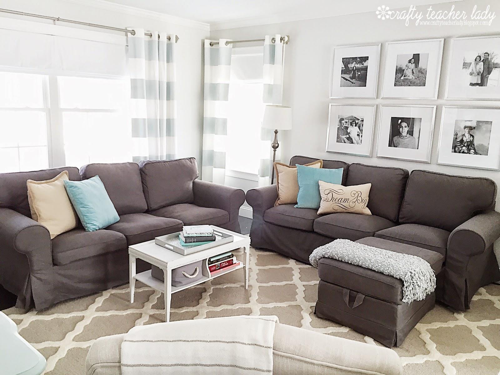 Crafty Teacher Lady Review Of The Ikea Ektorp Sofa Series