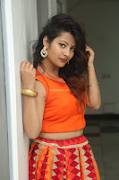 Shubhangi Bant in Orange Lehenga Choli Stunning Beauty ~  Exclusive Celebrities Galleries 010.JPG