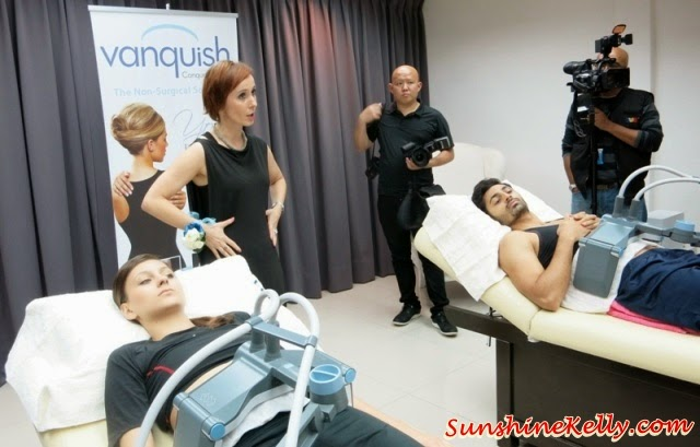 Vanquish, KO Skin Specialist, Slimming Treatment, Fat Loss Treatment, painless kill fats