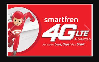 3 APN Internet Kartu SmartFren 4G Terbaru 2018