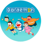 Oblea para tartas Doraemon