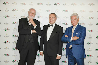 Grappe Romano Levi al Celebrity Fight Night di Roma