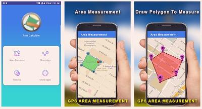 aplikasi android mengukur luas tanah