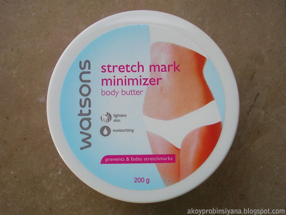 Watsons Strecth Mark Minimizer Review