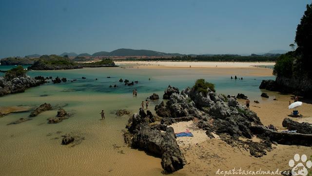 Playa de los Barcos, Isla, Cantabria