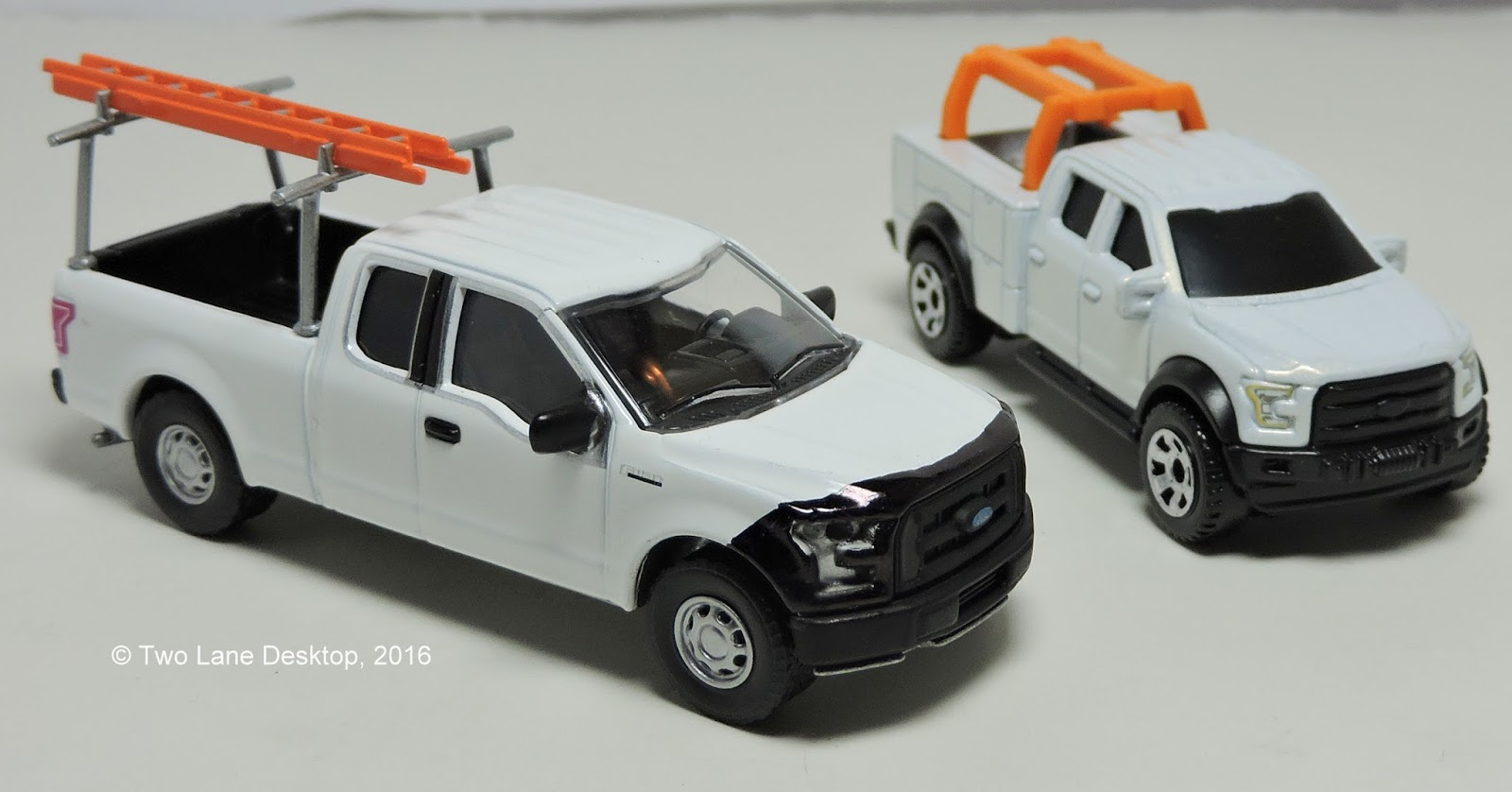 Two Lane Desktop Greenlight And Matchbox 2015 Ford F 150
