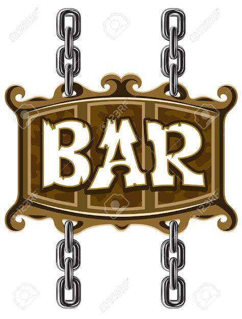 Vector  Wooden Sign For Beer Pub Or Bar  Vector Illustration