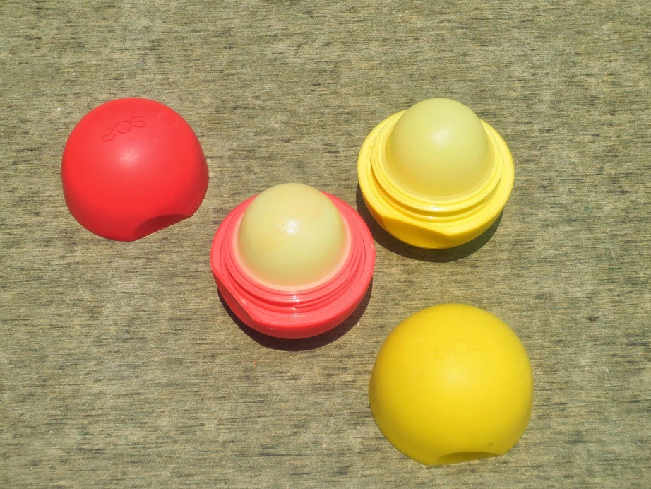 EOS Lip Balms Lemon Drop Summer Fruit