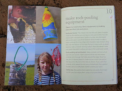 The Beach Book how to make pond dipping equipment