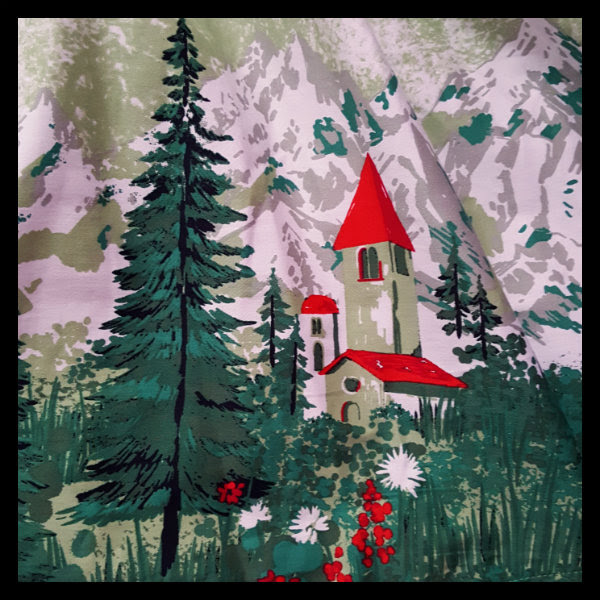 lindy bop alpine print