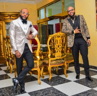 E-MONEY AND KCEE STRIKES A POSE