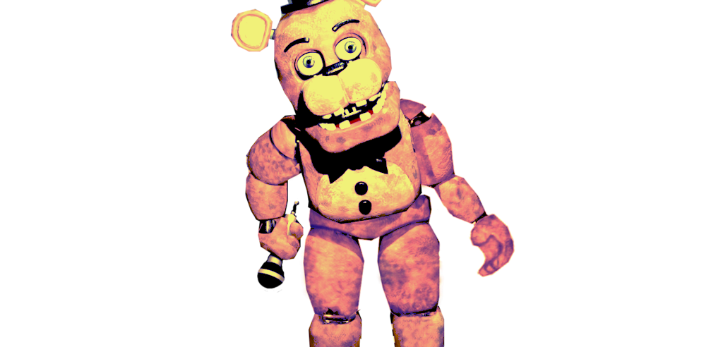 BLOGSPOT TEST: Golden Withered Freddy Standing