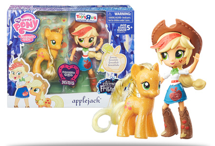 SDCC Exclusive 2016 Toys R' Us Pony - Applejack Set