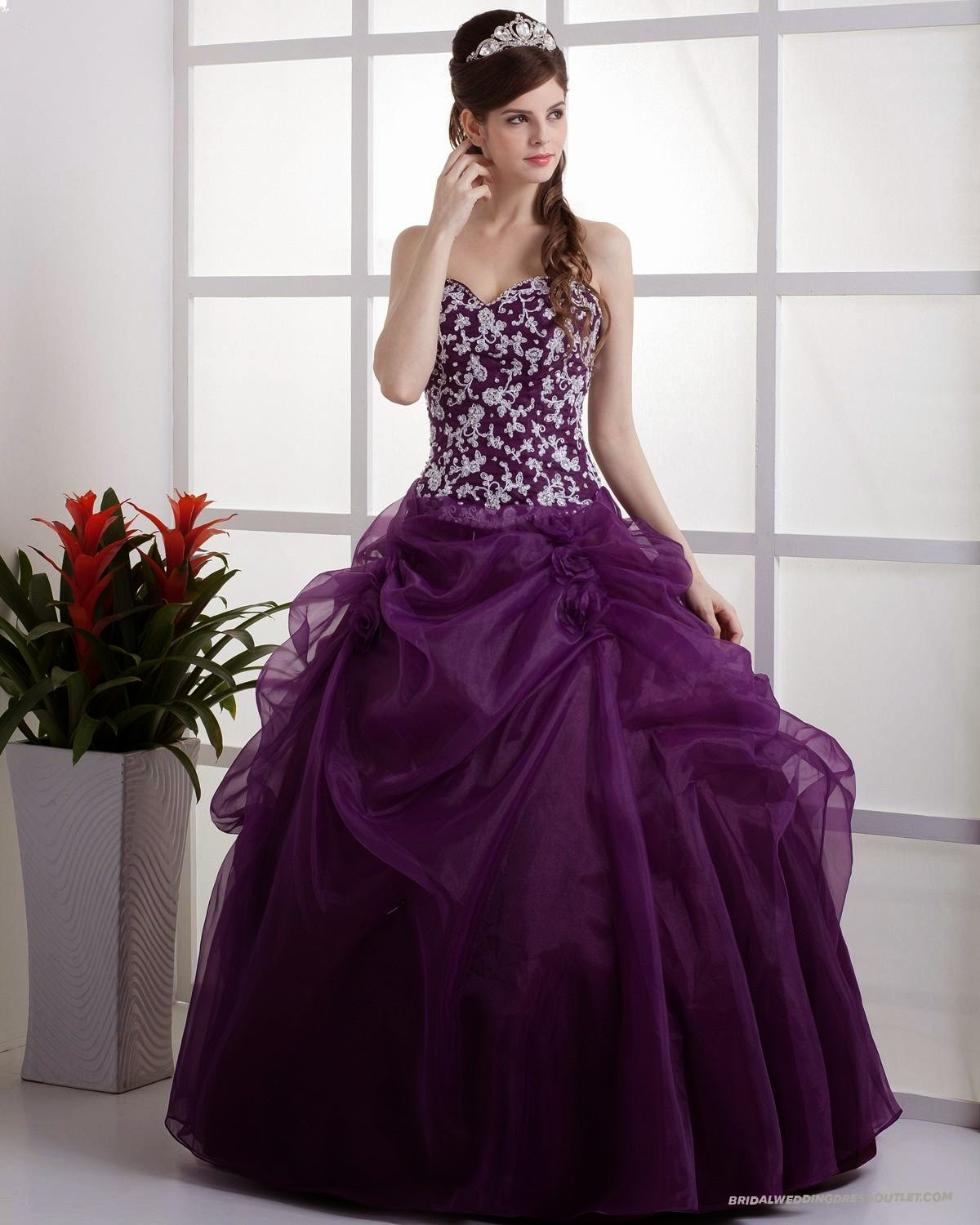 Prom dresses uk new arrival embroidery grape princess prom ... - photo#28
