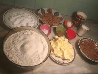 مقادير حلوة الهلال المغربية