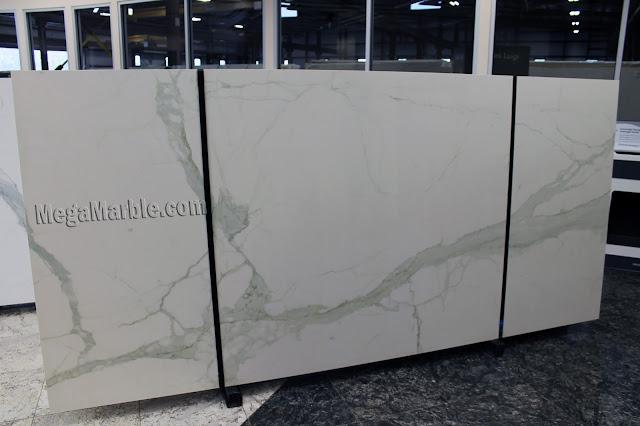 Calacatta Porcelain Slabs For Countertops & Shower Walls