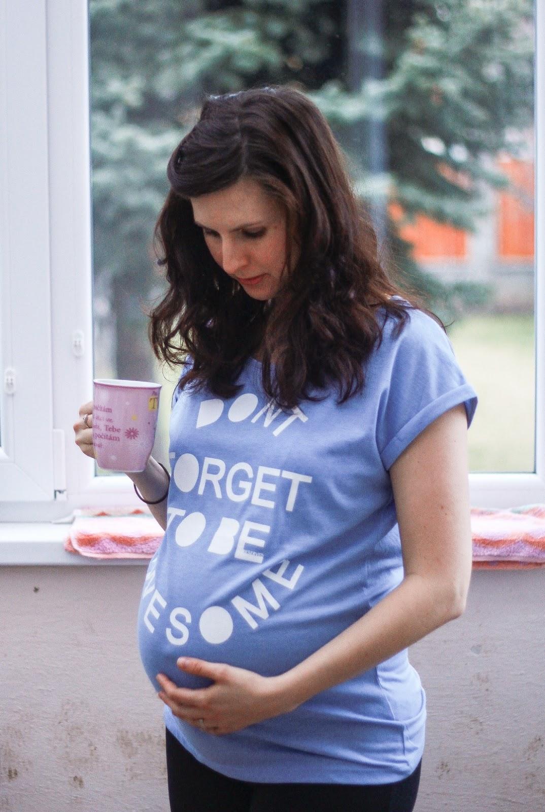 těhotenství, miminko, trapasy, mateřství, mateřská