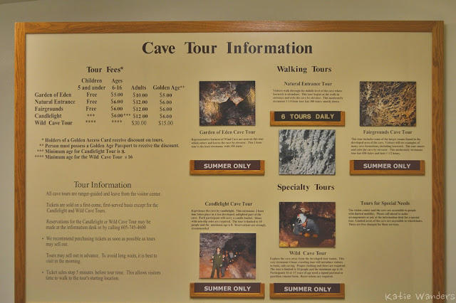 Cave Tour at Wind Caves National Park