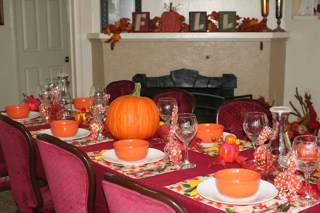 Simple Fall Dinner Party