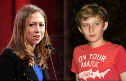 Melania Trump thanks Chelsea Clinton for defending her son, Barron against online bullying
