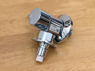 LIXIL INAX LF-WJ50KQ 緊急止水弁付洗濯機用単水栓蛇口-8